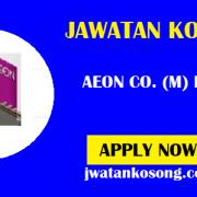Jawatan Kosong Terkini AEON Co. (M) Bhd, Pelbagai Kekosongan (Update)