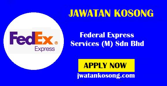 Jawatan Kosong Terkini Federal Express Services (M) Sdn Bhd, Pelbagai Kekosongan ( Update )