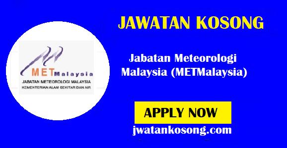Jawatan Kosong Terkini Jabatan Meteorologi Malaysia (METMalaysia) – 18 Oktober 2021