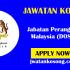 Jawatan Kosong Terkini Di Jabatan Perangkaan Malaysia (DOSM) – 15 Oktober 2021