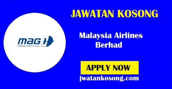 Jawatan Kosong Terkini Di Malaysia Airlines Berhad, Pelbagai Kekosongan ( Update )