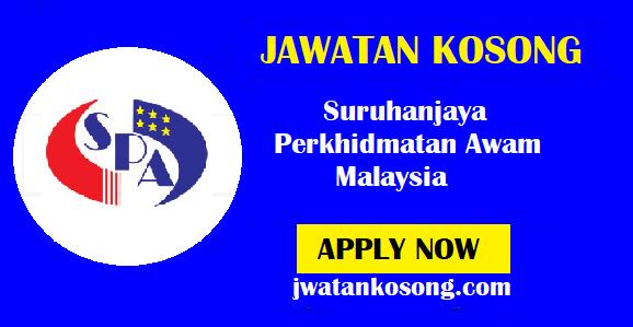 Jawatan Kosong Terkini Suruhanjaya Perkhidmatan Awam Malaysia – Minima SPM