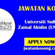 Jawatan Kosong Terkini Di Universiti Sultan Zainal Abidin (UNISZA) – 11 Oktober 2021